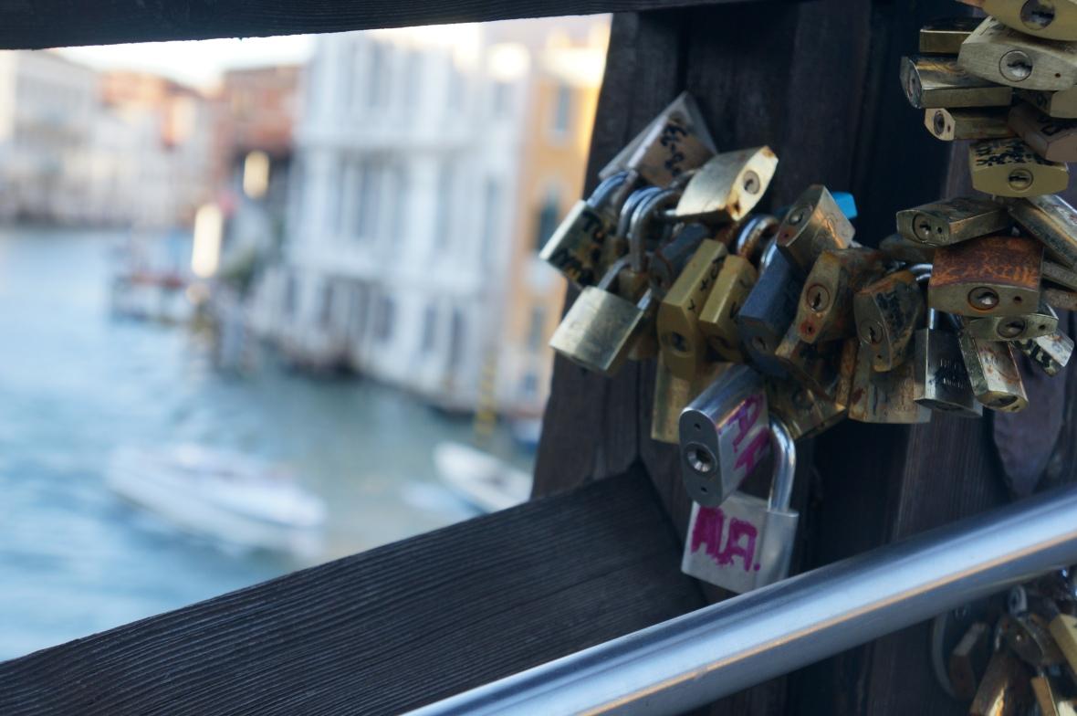 Lovelocks in Venice